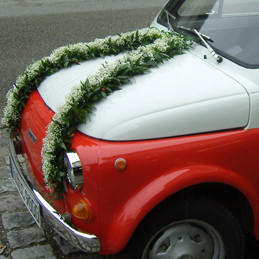 Autoschmuck - Auto - Hochzeit
