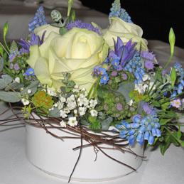 Tischgesteck Hochzeit - Blumen Eder