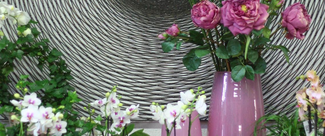 Blumenherz auf Auto - Blumenhaus Eder