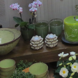 Steinblüte für Teelicht - Blumen Eder Rosenheim