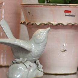 Keramikvogel - Blumenhaus Eder Stephanskirchen