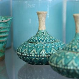 Keramikschatule orientalisch - Blumen Eder Rosenheim, Stephanskirchen
