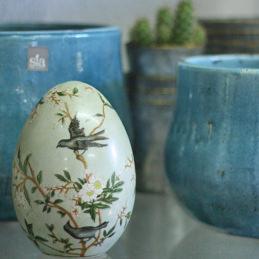 Keramikeier mit Bemalung - Blumen Eder Rosenheim, Stephanskirchen